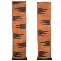 Early 20th century rare pair of Tutsi Screens, Rwanda | From a unique collection of antique and modern tribal art at https://www.1stdibs.com/furniture/more-furniture-collectibles/tribal-art/