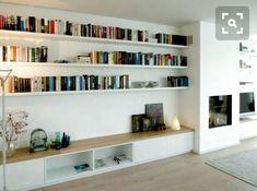 Trendy home library lounge bookshelves ideas Home Living Room, Interior Design Living Room, Living Room Decor, Living Spaces, Living Room Shelves, Living Room Seating, Lounge Seating, Lounge Sofa, Muebles Living