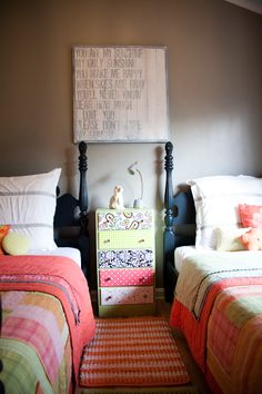 cute night stand for a kid bedroom