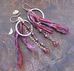 Gypsy Earrings by stregata on Etsy