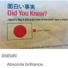The Japanese are smart people. Just saying.