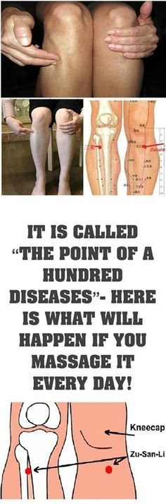 "IT IS CALLED ""THE POINT OF A HUNDRED DISEASES""- HERE IS WHAT WILL HAPPEN IF YOU MASSAGE IT EVERY"