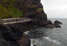 Gobbins Coastal Path, County Antrim, Northern Ireland.