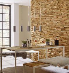 3D Wood Panel UltraWood Teak Toscani