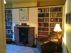 Common room in The Kilns, C.S. Lewis' house