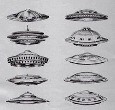 Two of these flying saucer types are known to carry hostile aliens. Do you know which two? Stay Informed-Stay Safe.
