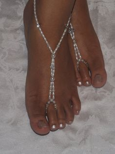 Barefoot sandals Foot jewelry Anklet