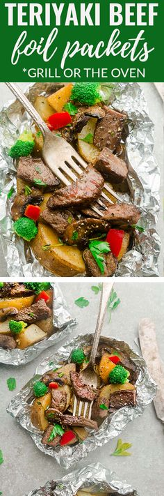 Tin Foil Dinners, Hobo Dinners, Foil Packet Dinners, Foil Pack Meals, Foil Packets, Vegetarian Camping Recipes, Camping Food Make Ahead, Camping Meals, Grilling Recipes