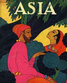 Cover Art of ASIA Magazine, Frank McIintosh