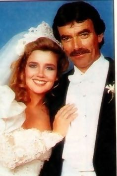 Melody Scott Thomas and Eric Braeden (Nikki & Victor Newman) Wedding #1…