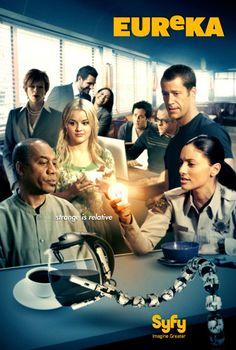 Eureka (season 5) tv show poster