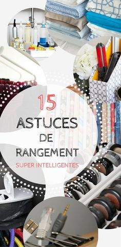 J'adore les astuces de rangement ! Interior Design Living Room, Living Room Designs, Home Organisation, Organization Ideas, Home Management, Tips & Tricks, Brighten Your Day, Declutter, Clean House