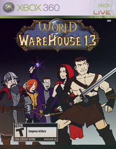 I wish this was real! World of Warehouse 13! By ComickerGirl (deviantart).