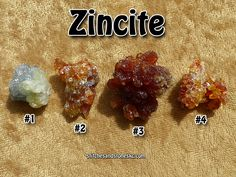 Crystal Guidance Crystals for Sale: Zincite