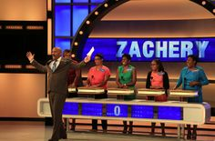 Taping has begun for a new season of Family Feud episodes in Atlanta, Ga. Description from steveharvey.com. I searched for this on bing.com/images