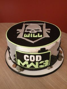 Call of Duty cake for Will — Children's Birthday Cakes