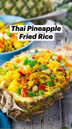 Rice Recipes Vegan, Vegan Foods, Easy Healthy Recipes, Veggie Recipes, Asian Recipes, Vegan Vegetarian, Great Recipes, Vegetarian Recipes, Dinner Recipes