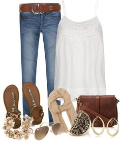 """my a jeans"" by norynieves on Polyvore"