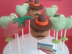 Cinco De Mayo cakepops for a fiesta party!