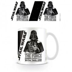 The force is strong avec cette tasse Dark Vador sous licence officielle Star Wars Mug Star Wars, Cadeau Star Wars, The Force Is Strong, Mugs, Stars, Te Quiero, Hipster Stuff, Sith Lord, Gifts