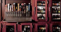 Kroll's South Loop beer cooler- we have over 100 different bottles