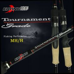 51.30$  Buy now - http://alizrr.worldwells.pw/go.php?t=32342946911 - KUYING 2.1M Tournament Double Tips MH H Casting Spinning Carbon Lure Fishing Rod Pole Stick Medium Fast Action Free Shipping 51.30$