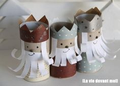 DIY Children's : Amusing DIY Toilet Paper Roll Kings And Crowns