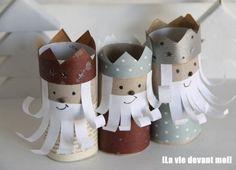 DIY Children's : Amusing DIY Toilet Paper Roll Kings And Crowns