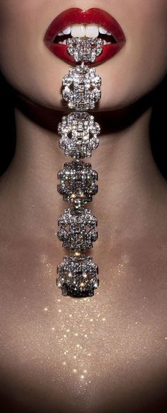 Diamonds are a girl's best friend - no, Jesus is for me!  But this is pretty fabulous!  :)  LUXURY.COM