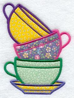Bilderesultat for embroidery applique
