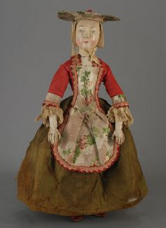 Carmel Doll Shop -Early Dolls-  Flemish Wooden, circa 1740