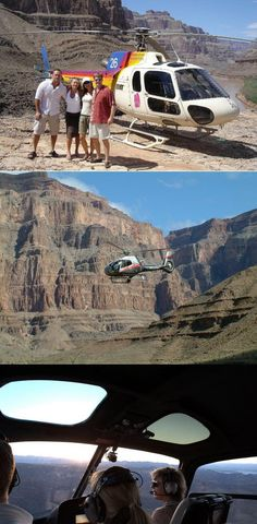 Try a Grand Canyon helicopter tour! Start here: http://www.grandcanyonhelicopters.org/3/