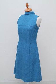 Kjole i uld 1960. M