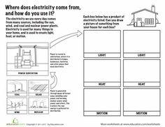 grade 6 electricity worksheets google search education pinterest worksheets. Black Bedroom Furniture Sets. Home Design Ideas