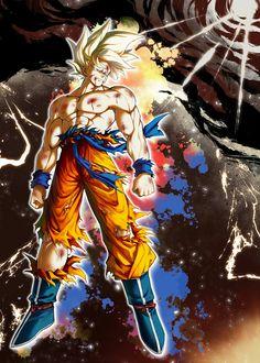 Goku Manga, Manga Anime, Anime Art, Dragon Ball Gt, Akira, Iron Man Cartoon, Goku Pics, Dragon City, Dragon Images