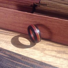 My first wooden ring :-)