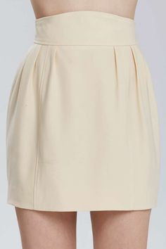 Vintage Chanel Noni Wool Skirt - Bottoms | Chanel