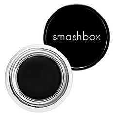 Smashbox JetSet Waterproof Gel Eyeliner. Stays on until you take it off. Never smudges. Never fades. And a little pot lasts for ages. LOVE all the shades. $22.00