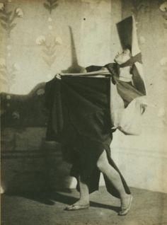 Vaslav Nijinsky in Til Eulenspiegel. (1916)