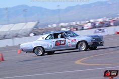 Greg Schneider running the @RideTech #Chevelle in the 2014 #OUSCI