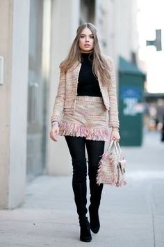Proof That Statement Tights Are This Season's Secret Style Weapon - Fashionmylegs : The tights and hosiery blog