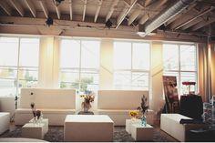 #city #wedding #venues Vintage Circus Wedding in an Urban Loft: Rebekah + Matt Seattle Wedding at Pravda Studios