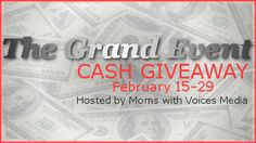 WIN ONE THOUSAND DOLLARS!!!! Ends 2/29!!!