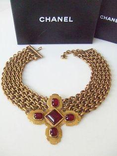 a07007757b6a gripoix Bijoux Chanel, Mode Passe, Mode Vintage, Haute Couture, Bijoux  Fantaisie Vintage