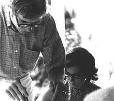 John and Annie at home - late 60's(?)