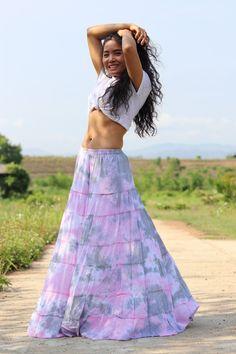 Boho Skirt / Maxi Skirt / Maxi Boho Skirt /Modest Skirt / Beach Skirt /Full Length skirt / Tie Dye Skirt/ Long Skirt Modest Skirts, Boho Skirts, Beach Skirt, Beach Dresses, Full Length Skirts, Summer Looks, Tie Dye Skirt, Boho Dress, Dress Skirt