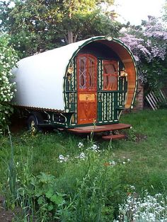 This was a sheepherder wagon.  Does this qualify as a vintage camper?