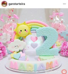 Sun Cake, Fondant Cake Toppers, Arts And Crafts, Diy Crafts, 3rd Baby, Pasta Flexible, Birthday Bash, Clay Art, Cake Designs