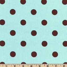 54'' Wide Premier Prints Polka Dot French Blue/Brown Fabric By The Yard by Premier Prints, http://www.amazon.com/dp/B000X3Z4OG/ref=cm_sw_r_pi_dp_g1cYpb1R342X3