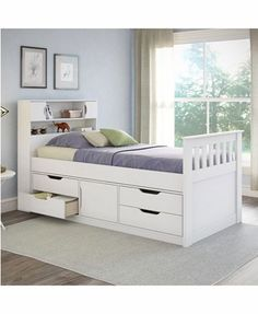 The space saving beds that feature convenient storage are perfect solutions for small bedroom designs. Kids Beds With Storage, Under Bed Storage, Single Storage Beds, Murphy Bed Ikea, Murphy Bed Plans, Luxury Bedroom Furniture, Bed Furniture, Luxury Bedding, Furniture Stores